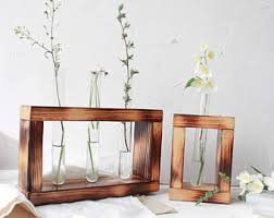 Test Tube Vase Holder Flower Vase Etsy