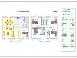 plan de maison 5 chambres plan maison 5 pieces a etage