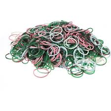 elastic hairband 1000pcs color mix elastic hair band small rubber bands us 7 88