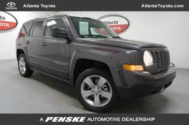 the jeep patriot 2016 used jeep patriot fwd 4dr latitude at atlanta toyota serving