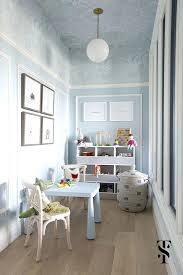 Interior Dental Clinic Chic Dental Office Kids Playroom Blue Walls With Wallpapered