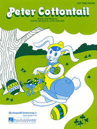 peter cottontail sheet music sheet music