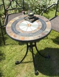 Iron Bistro Table Set Mosaic Bistro Table Set Foter