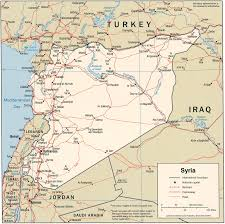 Maps Syria by Syria Political Map Administrative Map Of Syria Syria Political