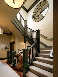 Painting Banisters Ideas Painted Banister Ideas With Wall Decor Staircase Contemporary And