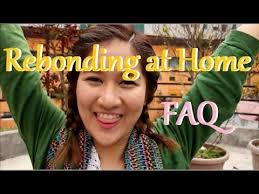 hair rebonding at home faq rebonding hair at home youtube