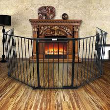 zeny fireplace fence baby safety fence hearth gate bbq metal fire
