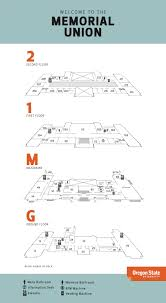 building hours u0026 floorplans memorial union oregon state university