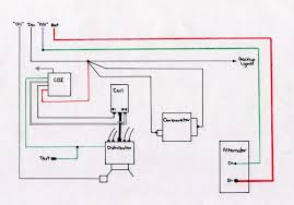 lucas alternator wiring diagram one wire wiring diagram components