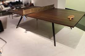 wood for table tennis table 108 industrial ping pong table tennis oak dark walnut wood iron