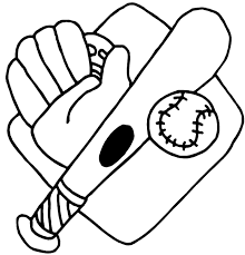 free baseball coloring pages kids coloring