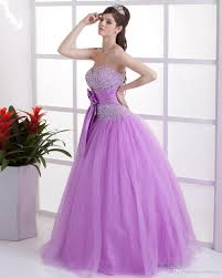 sale lilac quinceanera dresses flower trimmed beading sequins