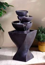 Water Fountain Home Decor Modern Tier Bowls Indoor Water Fountain By Fountain Cellar 249