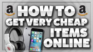 how to get very cheap items online online shopping deals youtube