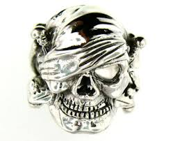 silver rings skull images Sterling silver skull pirate rings silver skull rings silver jpg