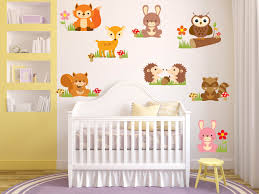 Boy Nursery Wall Decals Animal Wall Decals Nursery Wall Decals Baby Nursery