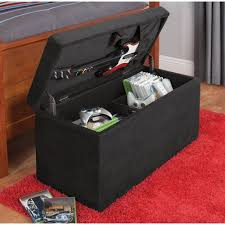 Black Storage Ottoman Your Zone Gaming Storage Ottoman Black Wish This Came In Another