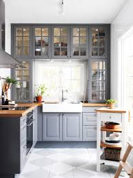 20 beautiful kitchens with butcher block countertops gray