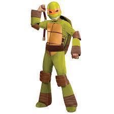 Kids Ninja Halloween Costume Teenage Mutant Ninja Turtle Michelangelo Kids Costume
