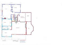 demo jama house arrow showing location of former inside corner