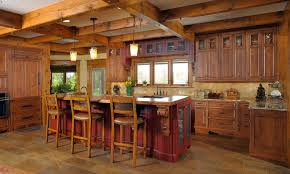 rustic alder kitchen cabinets distressed rustic alder cabinetry kitchen rustic with under