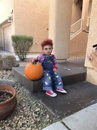 chucky costume toddler chucky costume toddler guys horror 12m childs play shortall