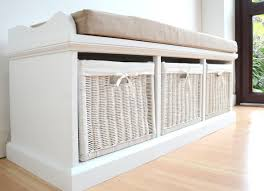 bench simple white storage bench ideas amazing storage bench