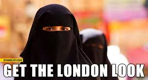 Get The London Look Meme - get the london look muslim woman starecat com