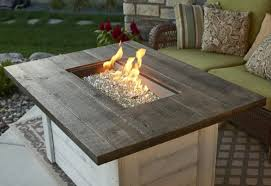 Gas Firepit Tables Alcott Gas Firepit Table