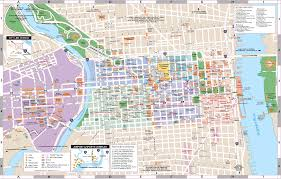 Map Of Philly Philadelphia Now And Then