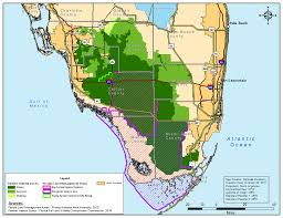 Map Of Broward County Florida by Florida Panther Jacqui Thurlow Lippisch