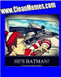 Waldo Meme - batman finds waldo clean memes