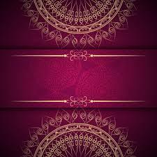 abstract beautiful mandala design background vector free