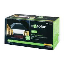 Solar Powered Post Cap Lights by 2x Brighter Solar Post Caps Set Of 4 Walmart Com