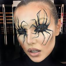 Cool Halloween Makeup by Spider Eyelashes Of Course U2026 Pinteres U2026