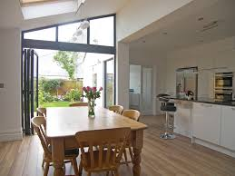 kitchen extension similar layout with utility room at the back