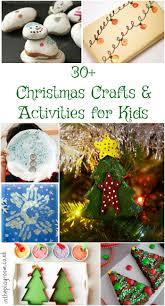 kids christmas crafts activity advent calendar