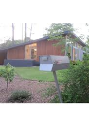 mid century modern house architecture with ranch floor luxihome