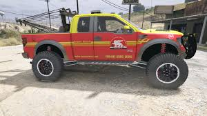 Ford F150 Truck Raptor - ford f 150 raptor towtruck swiss ge auto secours gta5 mods com
