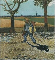 the painter gogh s destroyed works the painter on the road to tarascon