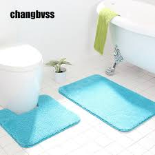 Memory Foam Rugs For Bathroom 1pcs 60 90cm Bathroom Mats Set Memory Foam Rug Kit 50 50cm Toilet