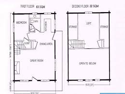 fabulous cabin with loft floor plans crtable