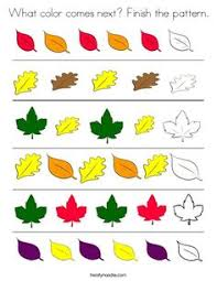 complete the pattern printable worksheets worksheets and children