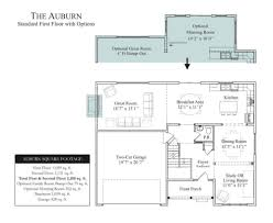 the auburn in wheatland farms community floor plans in lincoln
