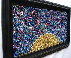 mardi gras things mardi gras bead mosaic 17 cool things to do with your mardi