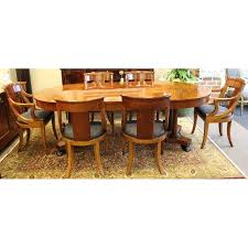Regency Dining Table And Chairs Hollywood Regency Baker Dining Table U0026 6 Chairs Chairish