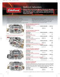 edelbrock 262 400 owner s manual