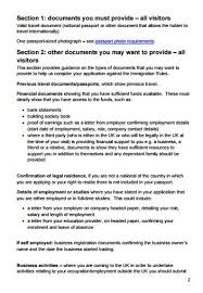 Employment Letter For Visa Uk citizens what should we do about a uk standard visitor