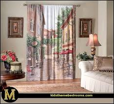 Coffee Themed Kitchen Curtains by Decorating Theme Bedrooms Maries Manor French Cafe Paris Bistro