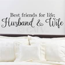 best friends for life husband and wife wall saying vinyl zoom